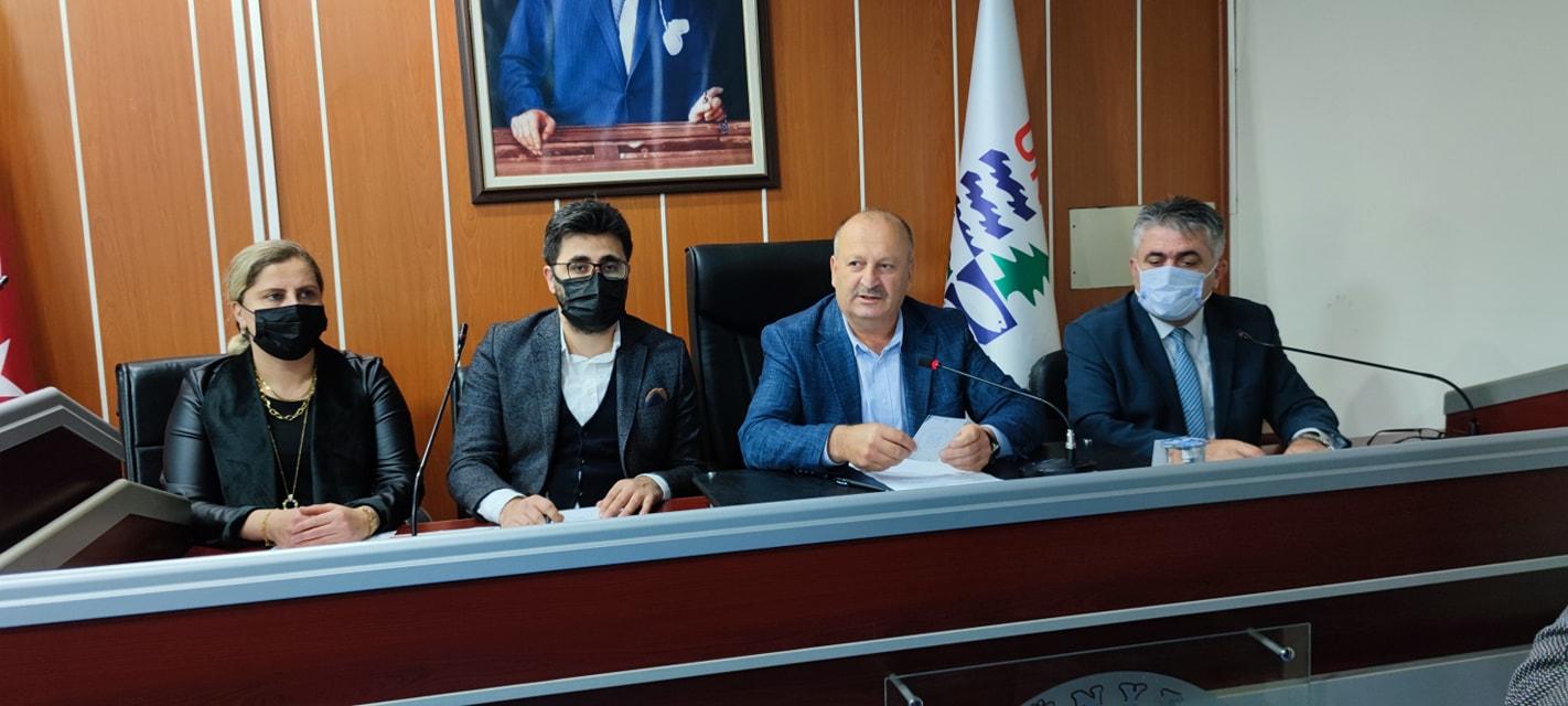 Ünye Belediyesi'nin 2022 tahmini bütçesi 157 milyon 100 bin TL olarak kabul edildi.
